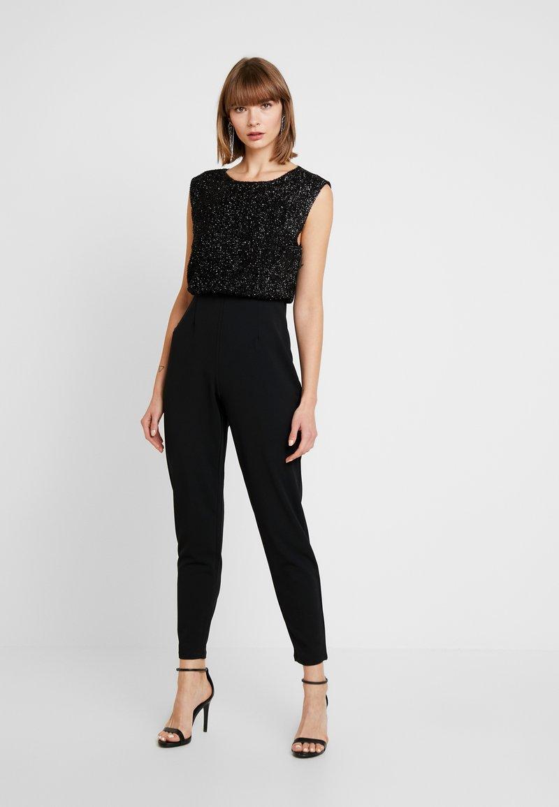 Vero Moda - VMMULLE O NECK - Jumpsuit - black