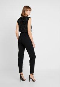 Vero Moda - VMMULLE O NECK - Jumpsuit - black - 2