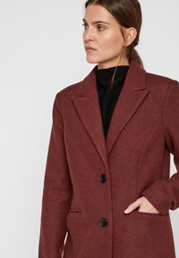 Vero Moda - VMBLAZA LONG - Classic coat - brown - 3