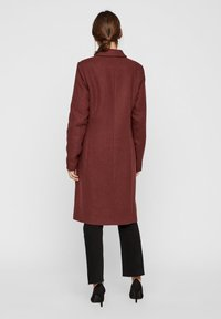 Vero Moda - VMBLAZA LONG - Classic coat - brown - 2