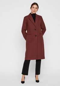 Vero Moda - VMBLAZA LONG - Classic coat - brown - 1