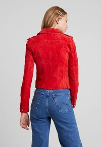 Vero Moda - VMROYCE - Leather jacket - chinese red - 2