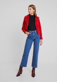 Vero Moda - VMROYCE - Leather jacket - chinese red - 1