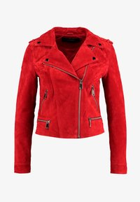 Vero Moda - VMROYCE - Leather jacket - chinese red - 3