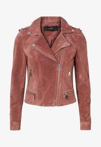 Vero Moda - VMROYCE - Veste en cuir - brown - 3