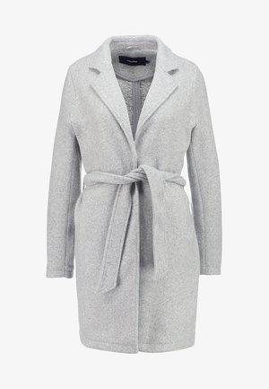 VMNINA BRUSHED - Zimní kabát - light grey melange