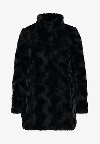 Vero Moda - VMCURL HIGH NECK JACKET NO - Cappotto corto - black - 4