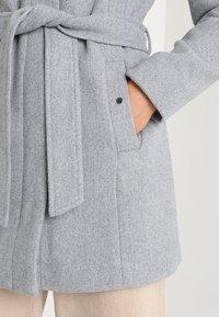 Vero Moda - VMLIVA CLASS - Cappotto classico - light grey melange - 5