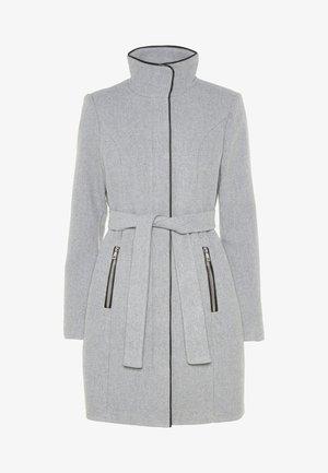 Krátký kabát - light grey