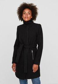 Vero Moda - Halflange jas - black - 0