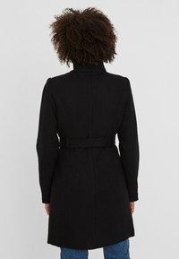 Vero Moda - Halflange jas - black - 1