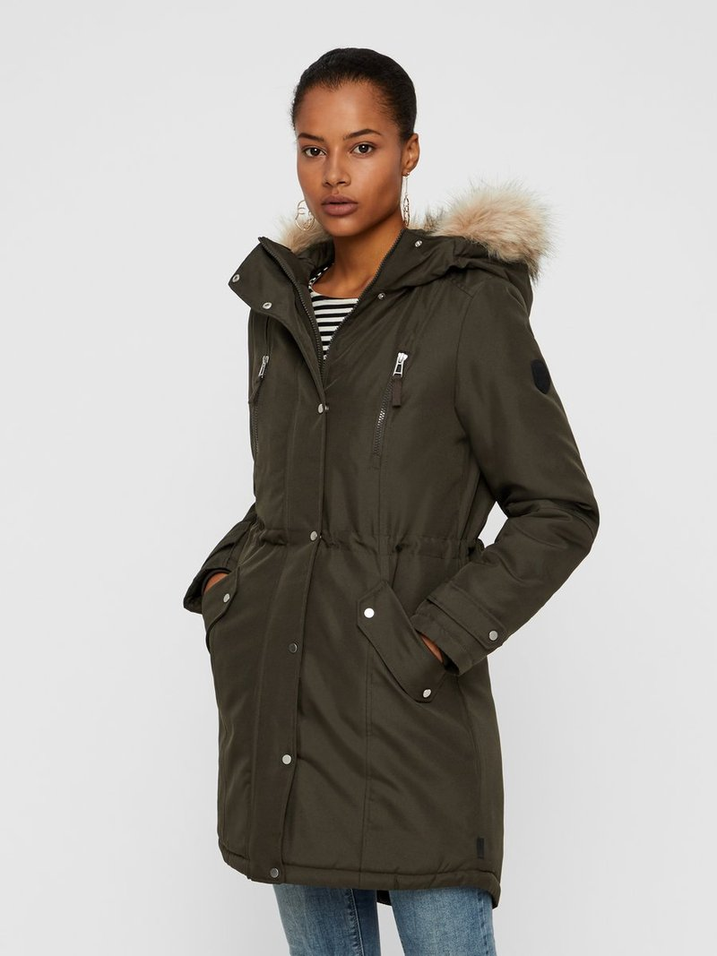 Vero Moda - VMTRACK EXPEDITION - Veste d'hiver - peat