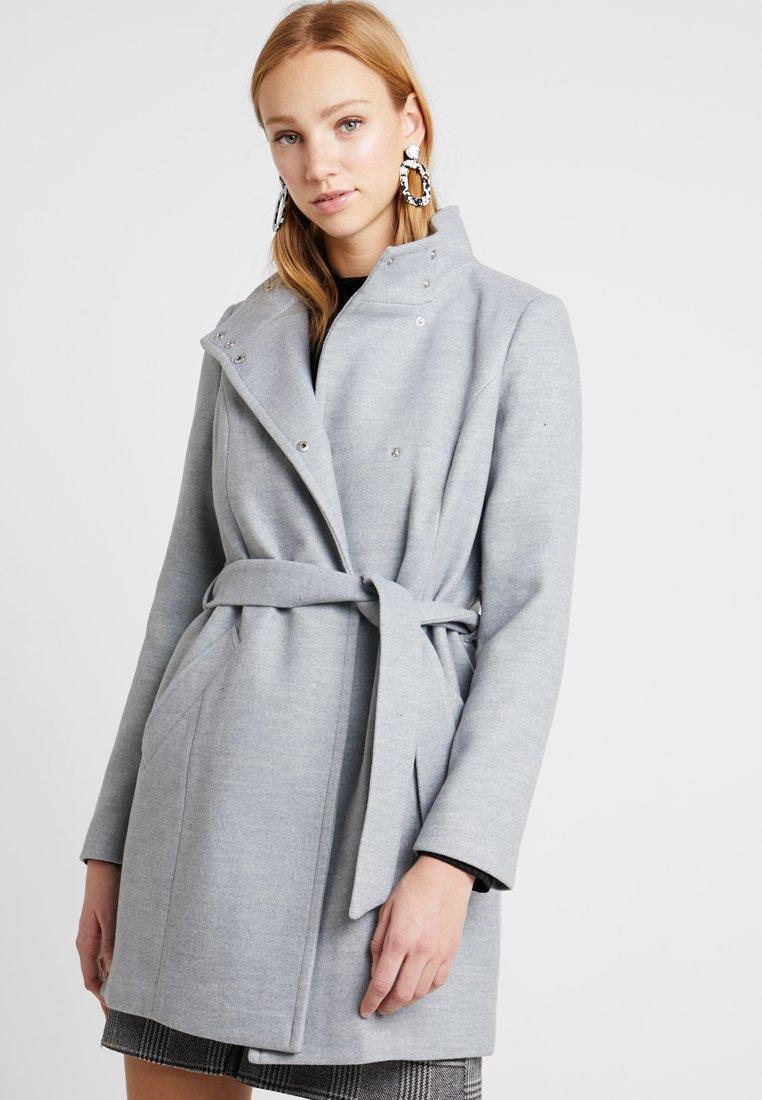 Vero Moda - VMAVA CALA - Krátký kabát - light grey melange