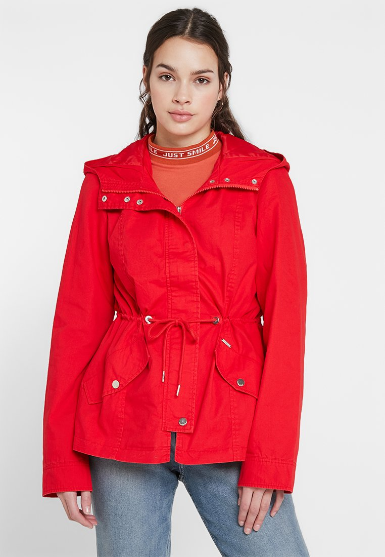 Vero Moda - VMROSA PARKA - Parka - high risk red