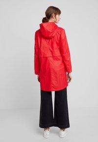 Vero Moda - VMFRIDAY NEW COATED JACKET - Parka - chinese red - 2