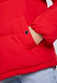 Vero Moda - VMNEWYORK JACKET SOLID - Zimní bunda - chinese red - 6