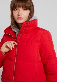 Vero Moda - VMNEWYORK JACKET SOLID - Zimní bunda - chinese red - 4