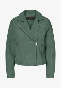 Vero Moda - VMROYCESALON JACKET - Leren jas - laurel wreath
