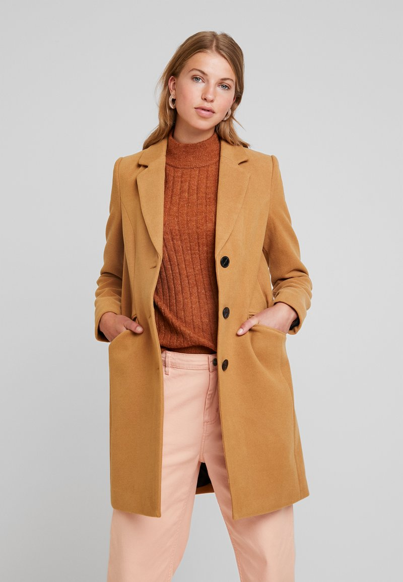 Vero Moda - VMCALA CINDY - Short coat - tobacco brown