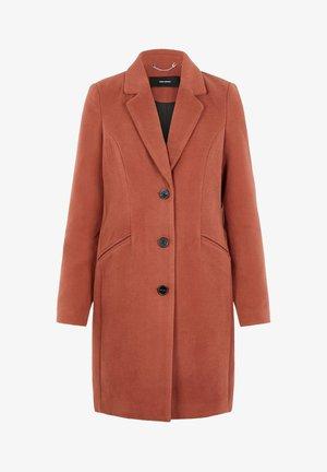 VMCALA CINDY - Short coat - mahogany