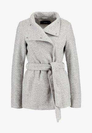 VMBRUSHED MYRA JACKET  - Fleece jacket - light grey melange