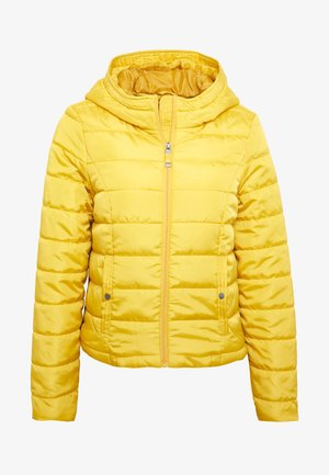 VMSIMONE HOODY SHORT JACKET - Light jacket - spicy mustard