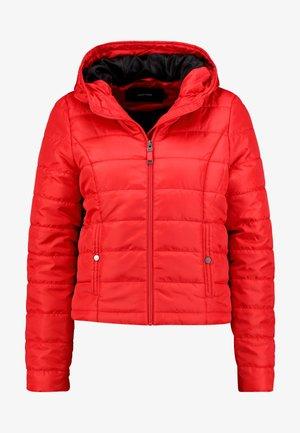 VMSIMONE HOODY SHORT JACKET - Lehká bunda - chinese red
