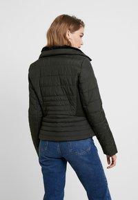 Vero Moda - VMCLARISSA SHORT JACKET - Light jacket - peat - 2