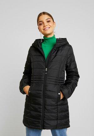 VMSIMONE HOODY - Zimní kabát - black