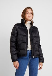 Vero Moda - VMMOLDE JACKET - Winter jacket - black - 0