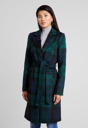 VMCINDY BELT - Zimní kabát - ponderosa pine/blue