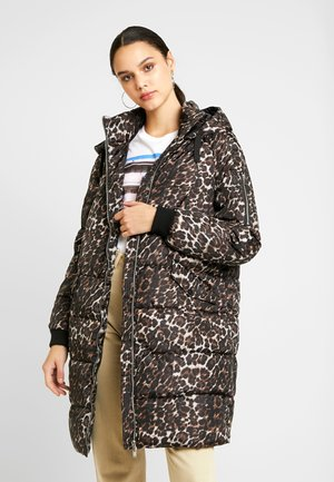 VMSAVANNAH PRINTED JACKET - Winter coat - tobacco brown