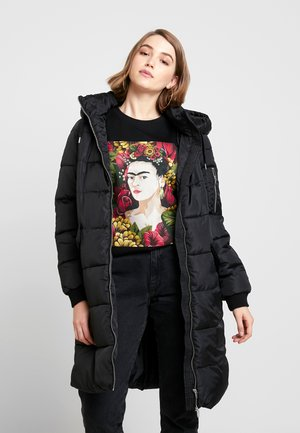 VMSAVANNAH PRINTED JACKET - Winter coat - black/solid