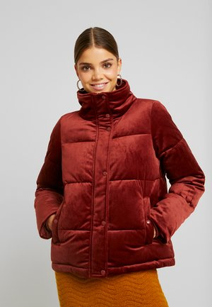 VMVELLY SHORT JACKET - Chaqueta de invierno - madder brown