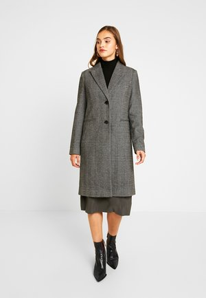 VMBLAZA HERRINGBONE LONG  - Classic coat - black/white
