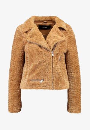 NANCY  - Winter jacket - tobacco brown