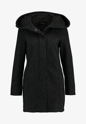 VMBRUSHEDVERODONA - Krótki płaszcz - dark grey melange