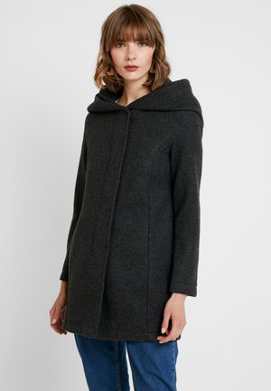 VMBRUSHEDVERODONA - Manteau court - dark grey melange