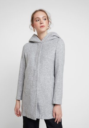 VMBRUSHEDVERODONA - Short coat - light grey melange
