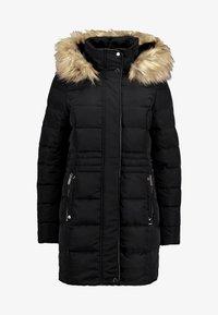Vero Moda - VMVIENNA JACKET BOOS - Kabát zprachového peří - black - 4