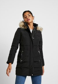 Vero Moda - VMVIENNA JACKET BOOS - Kabát zprachového peří - black - 0