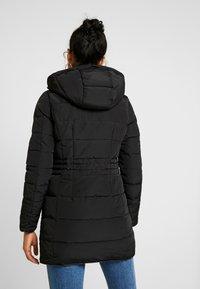 Vero Moda - VMVIENNA JACKET BOOS - Kabát zprachového peří - black - 3