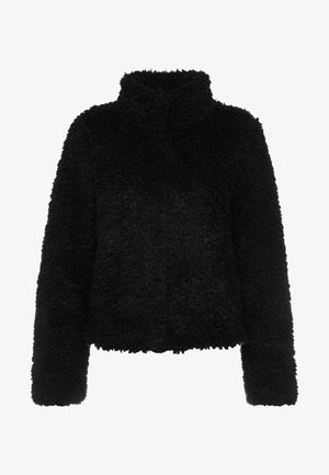 VMVIRIGINIATEDDY HIGH NECK - Winter jacket - black