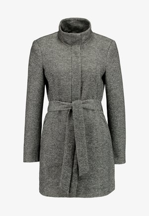 VMJULIAVERODONA HIGHNECK - Short coat - dark grey melange