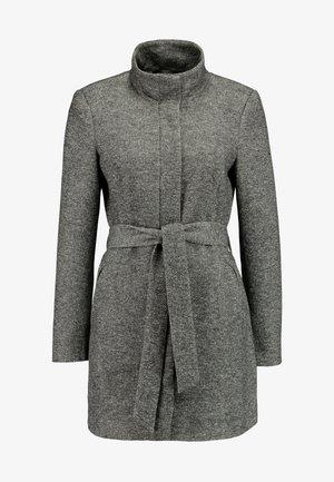 VMJULIAVERODONA HIGHNECK - Abrigo corto - dark grey melange