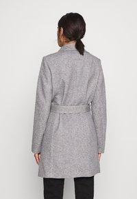Vero Moda - VMVERODONA  - Short coat - light grey melange - 2