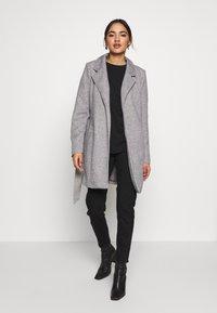 Vero Moda - VMVERODONA  - Short coat - light grey melange - 1