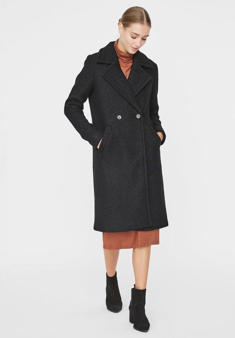 Vero Moda - Manteau classique - black