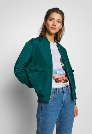 VMPAU SHORT JACKET - Bomberjacke - atlantic deep