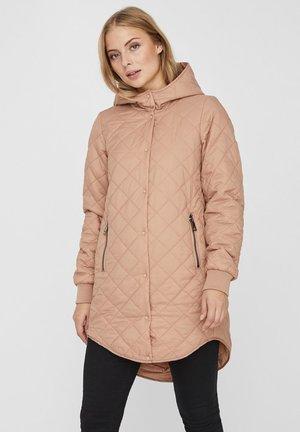 Winter coat - salmon